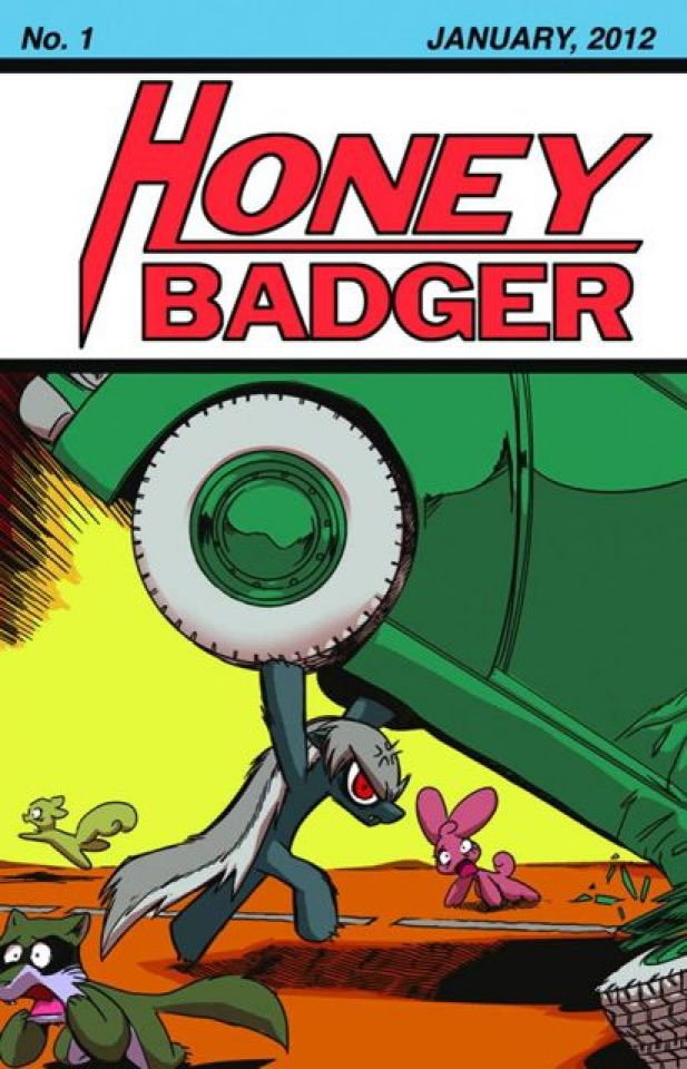 Honey Badger Adventures #1
