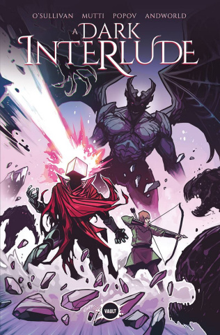 A Dark Interlude #1 (30 Copy Wijngaard Foil Cover)