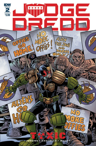 Judge Dredd: Toxic #2 (Buckingham Cover)