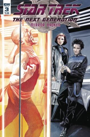 Star Trek: the Next Generation - Mirror Broken #3 (Woodward Cover)