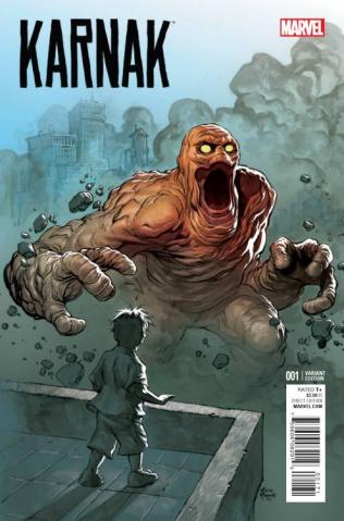 Karnak #1 (Powell Kirby Monster Cover)
