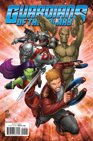 Guardians of the Galaxy #15 (Animation Cover)