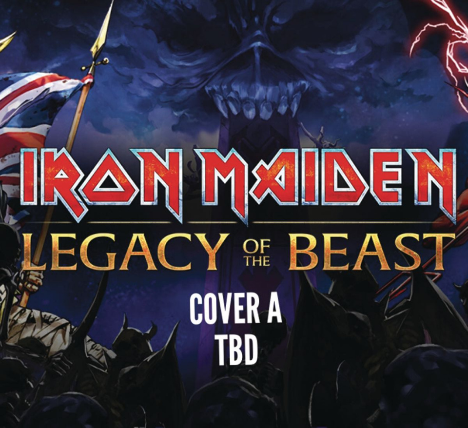 Iron Maiden: Legacy of the Beast #4 (Cover A)