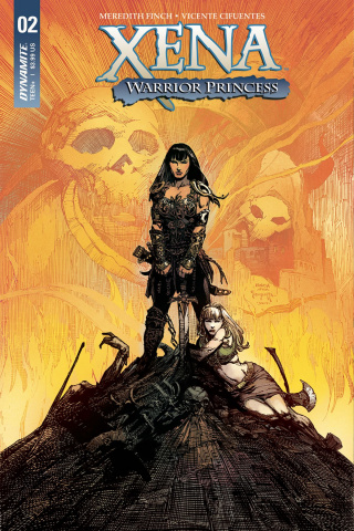Xena #2 (Finch Cover)