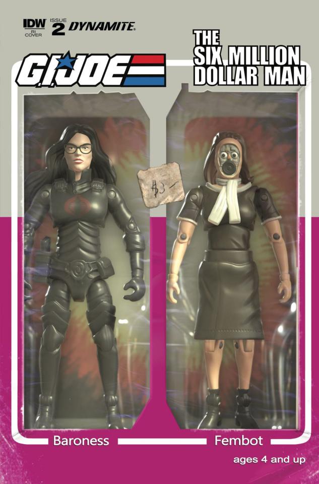 G.I. Joe vs. The Six Million Dollar Man #2 (10 Copy Cover)