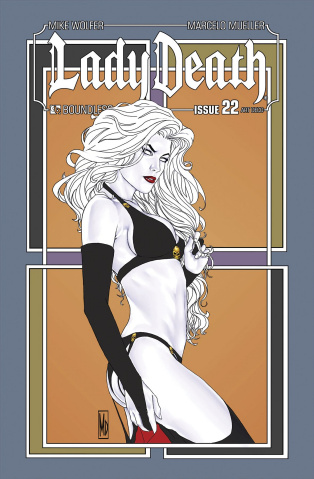 Lady Death #22 (Art Deco Variant Cover)