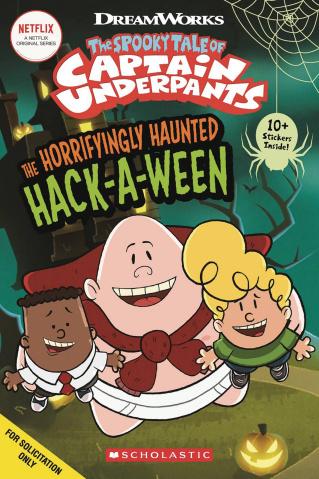 Captain Underpants Comic Reader #1: Haunted Hackaween
