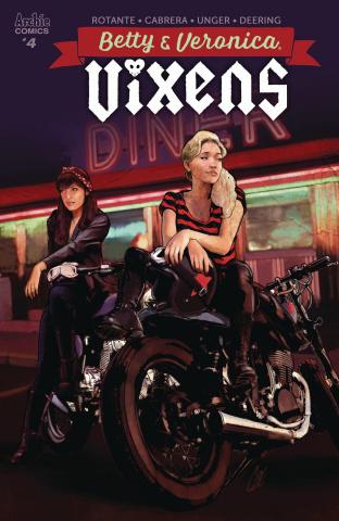 Betty & Veronica: Vixens #4 (Staggs Cover)