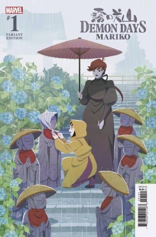 Demon Days: Mariko #1 (Gurihiru Cover)