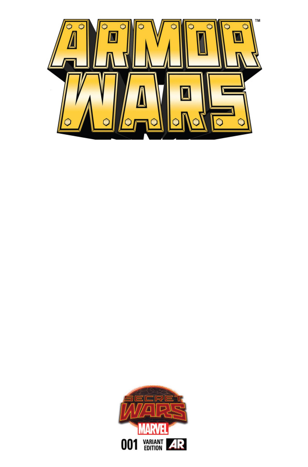 Armor Wars #1 (Blank Cover)