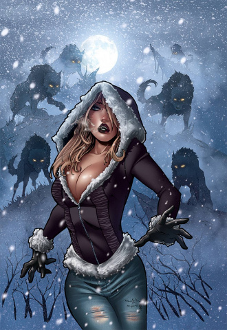 Grimm Fairy Tales: Dark Shaman #1 (Qualano Cover)