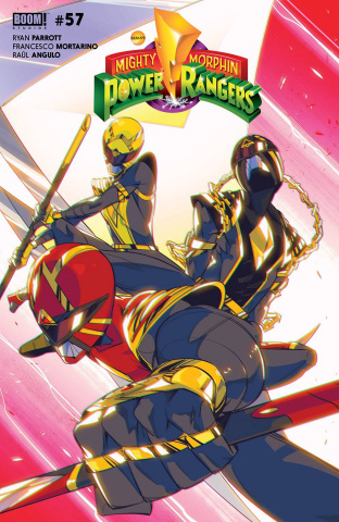 Power Rangers #1 (Nicuolo Cover)