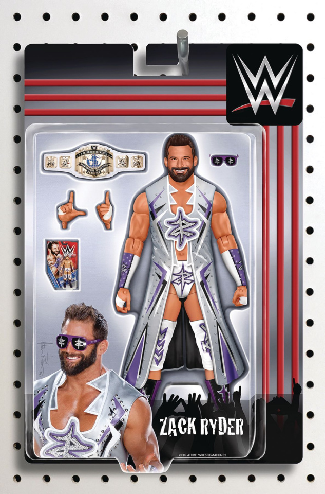 WWE #18 (Riches Action Figure Cover)
