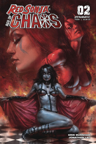 Red Sonja: Age of Chaos #2 (Parrillo Cover)