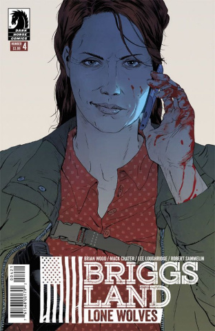 Briggs Land: Lone Wolves #4 (Sammelin Cover)