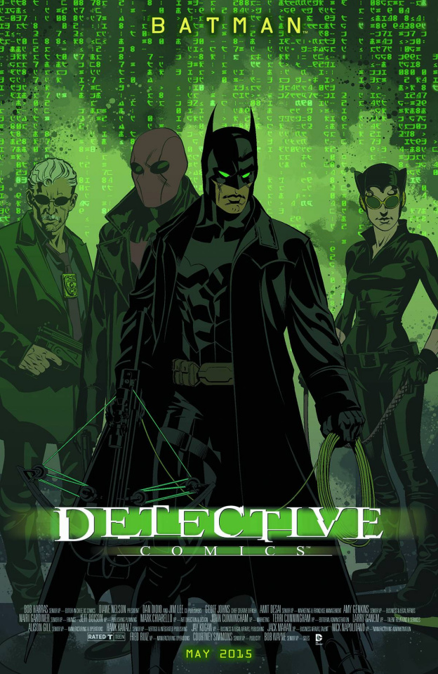 Detective Comics #40 (Movie Poster Cover)