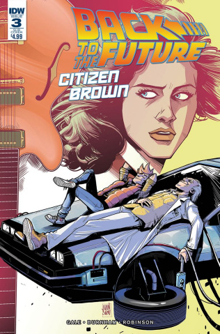 Back to the Future: Citizen Brown #3 (Subscription Cover)