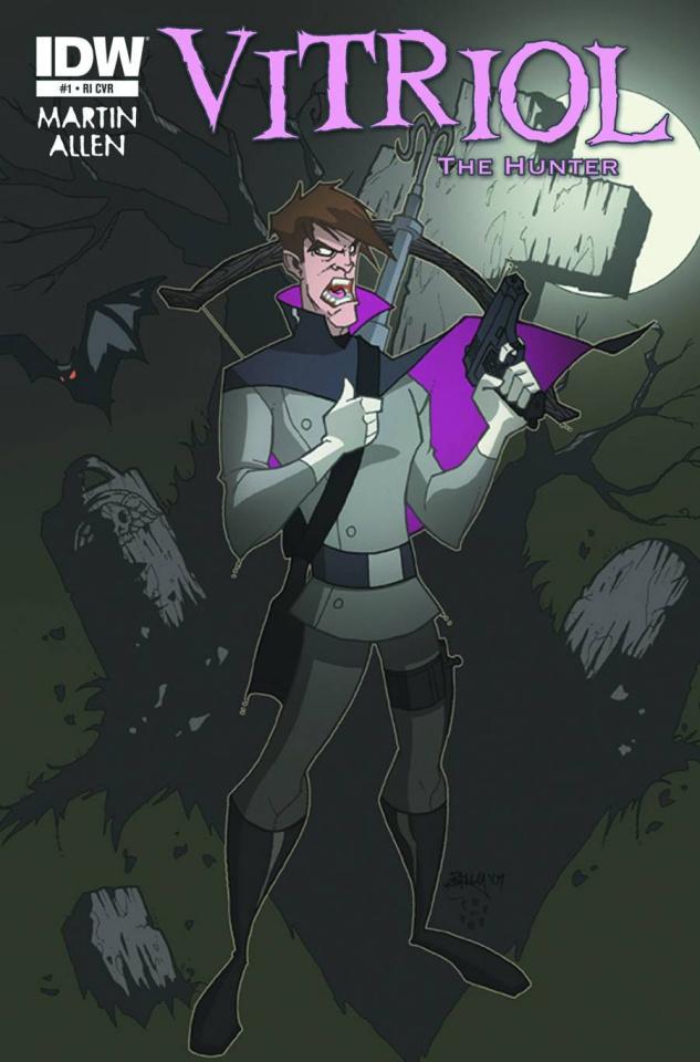 Vitriol the Hunter #1 (10 Copy Cover)