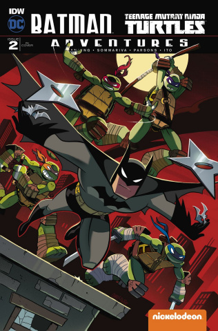 Batman / Teenage Mutant Ninja Turtles Adventures #2 (10 Copy Cover)