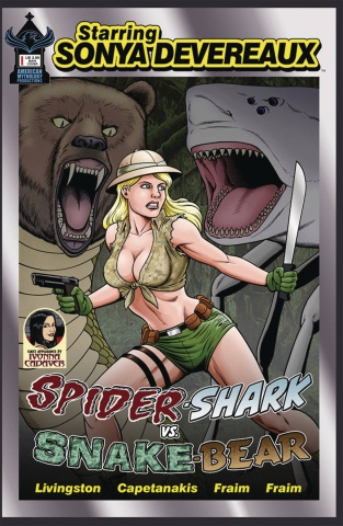 Starring Sonya Devereaux: Spider-shark vs. Snake-bear