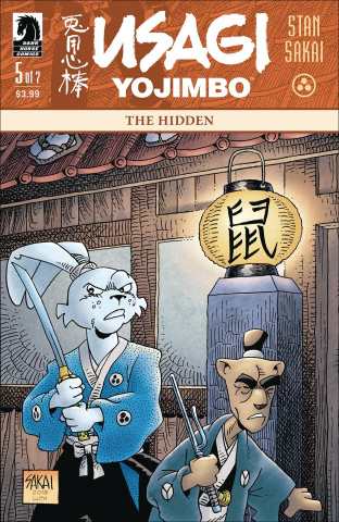 Usagi Yojimbo #5 (The Hidden)
