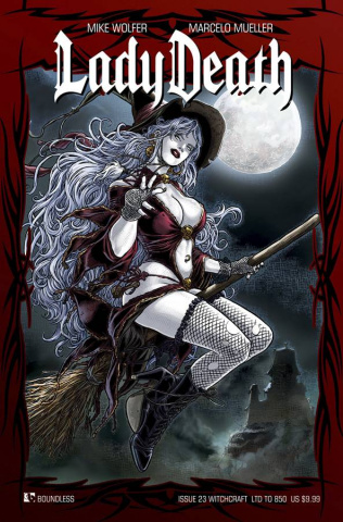 Lady Death #23 (Witchcraft Cover)