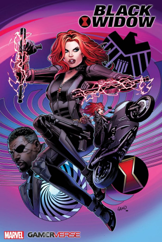 Avengers: Black Widow #1 (Land Cover)