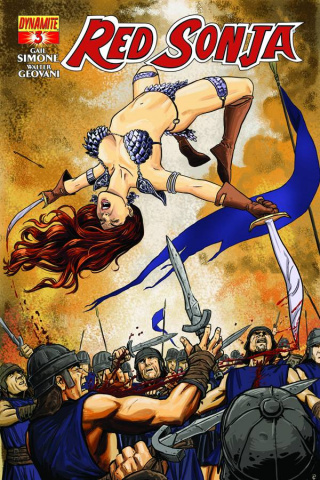 Red Sonja #3 (Guerra Cover)