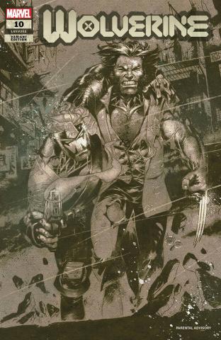 Wolverine #10 (Kubert Cover)