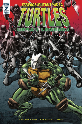 Teenage Mutant Ninja Turtles: Urban Legends #7 (Fosco Cover)