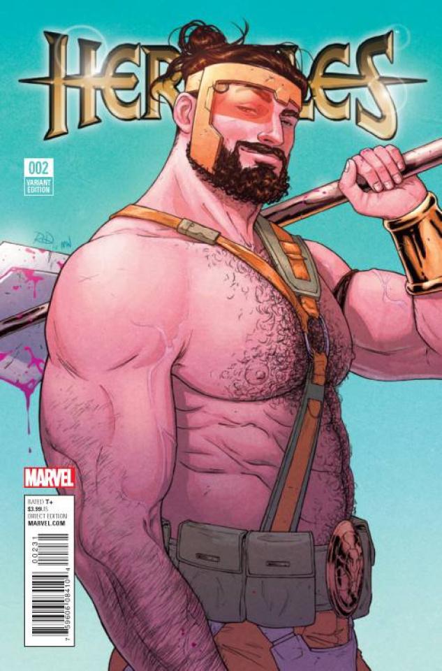 Hercules #2 (Dauterman Cover)