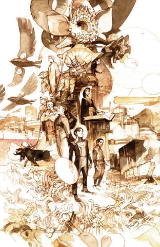 Dune: House Atreides #5 (50 Copy Tocchini Cover)