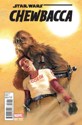 Chewbacca #1 (Dell'otto Cover)