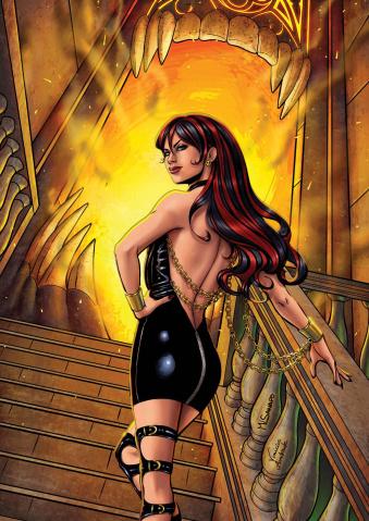 Grimm Fairy Tales: Grimm Tales of Terror #10 (Sanapo Cover)