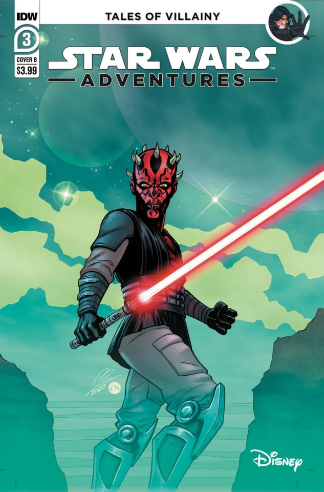 Star Wars Adventures #3 (Tinto Cover)