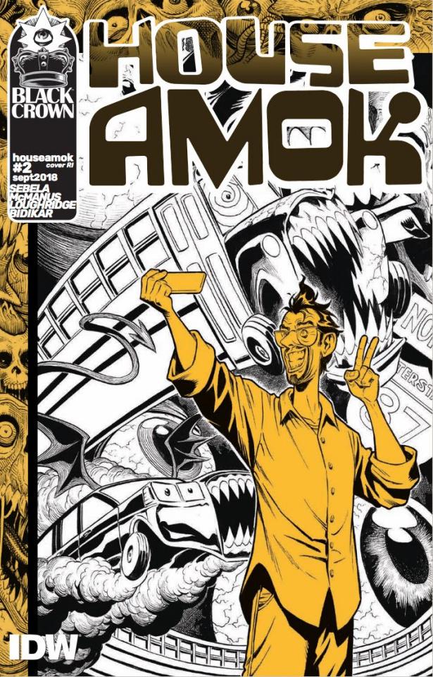 House Amok #2 (10 Copy McManus Cover)