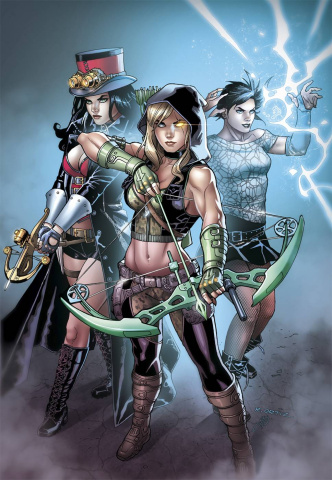Grimm Fairy Tales: Robyn Hood #14 (Ortiz Cover)