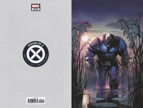 House of X #5 (Larraz Virgin Cover)