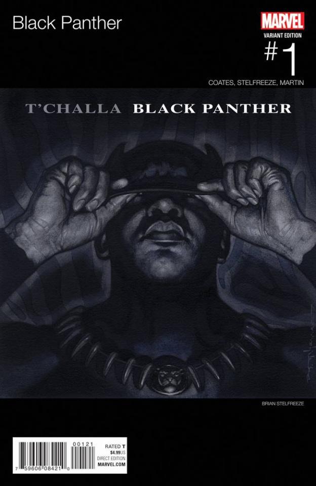 Black Panther #1 (Stelfreeze Hip Hop Cover)