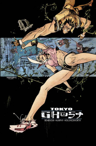 Tokyo Ghost #2 (Murphy & Hollingsworth Cover)