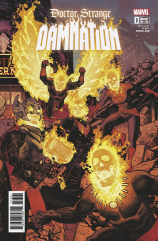 Doctor Strange: Damnation #3 (Smallwood Connecting Cover)