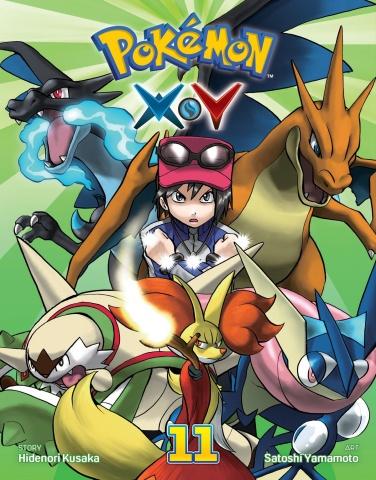 Pokemon XY Vol. 11