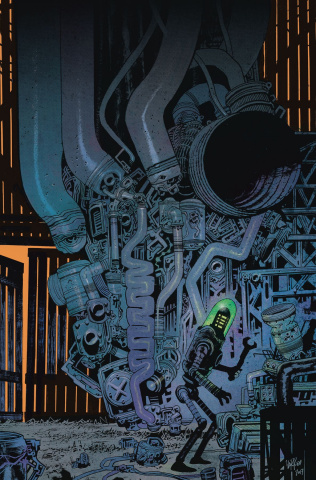 Black Hammer: Age of Doom #4 (Harren Cover)