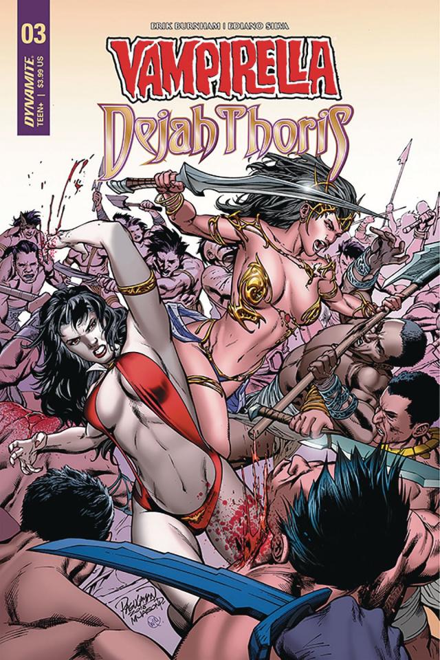 Vampirella / Dejah Thoris #3 (Pagulayan Cover)