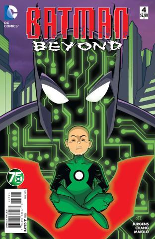Batman Beyond #4 (Green Lantern 75th Anniversary Cover)