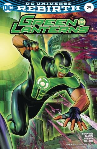 Green Lanterns #29 (Variant Cover)