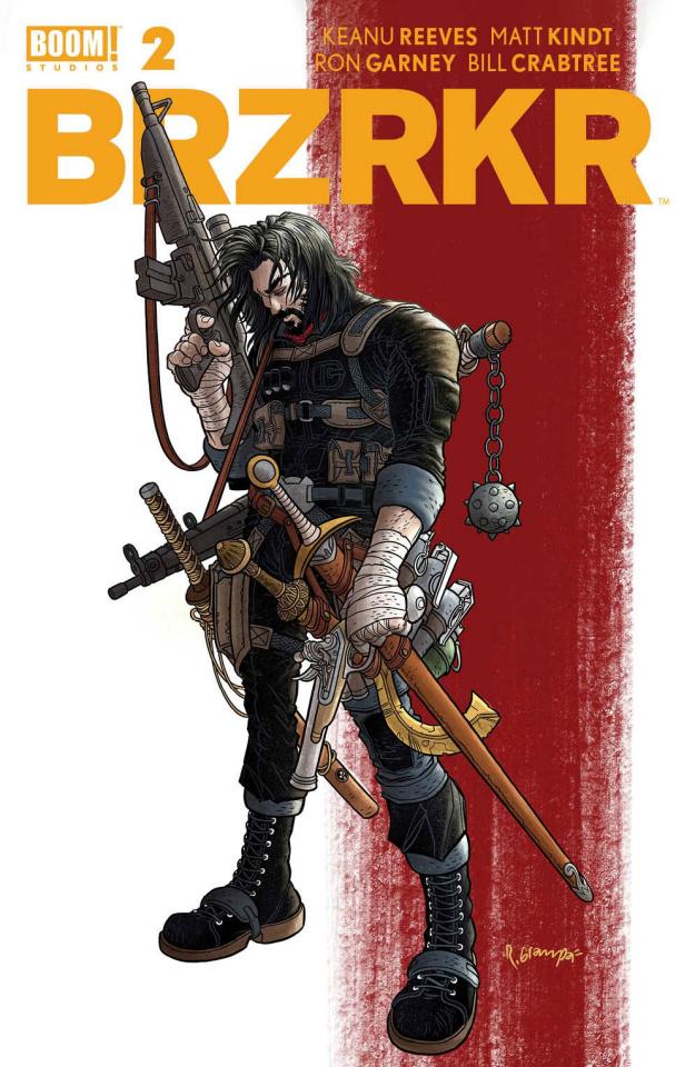 BRZRKR #2 (Grampa Cover)