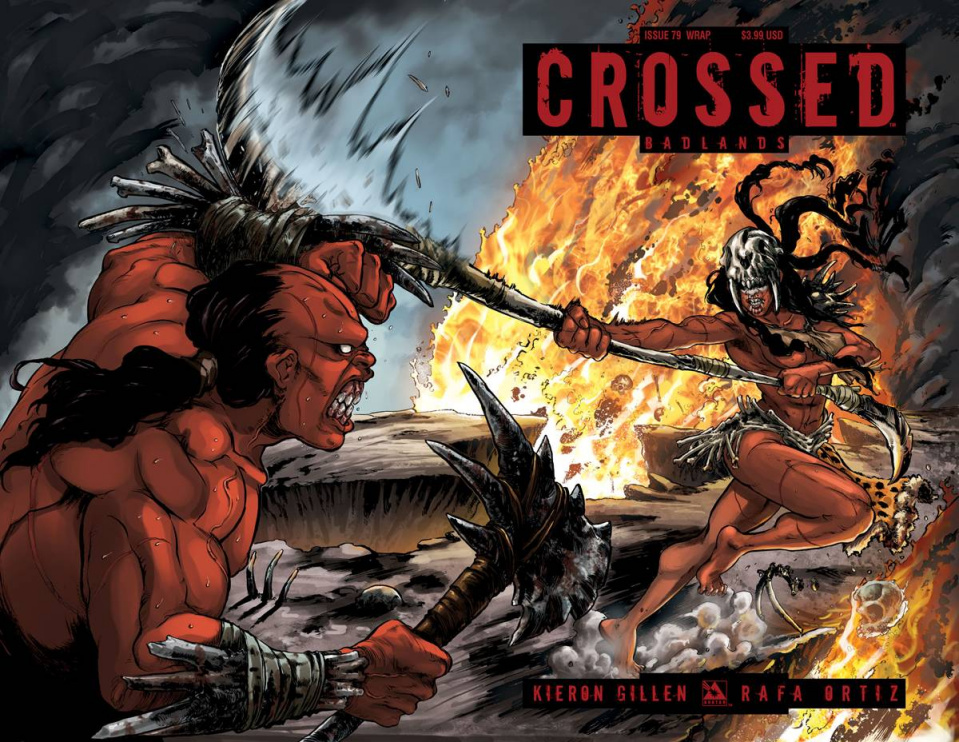 Crossed: Badlands #79 (Wrap Cover)