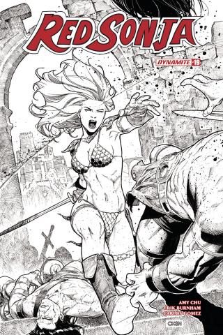 Red Sonja #19 (20 Copy Chen B&W Cover)
