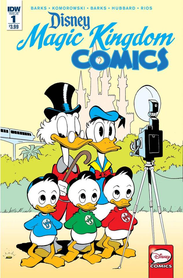 Magic Kingdom Comics #1 (Subscription Cover)
